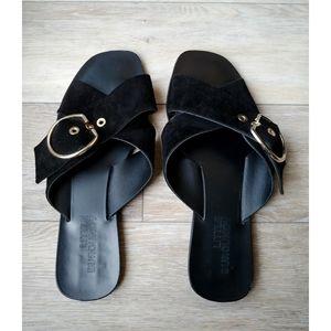 Little Burgundy Sandals